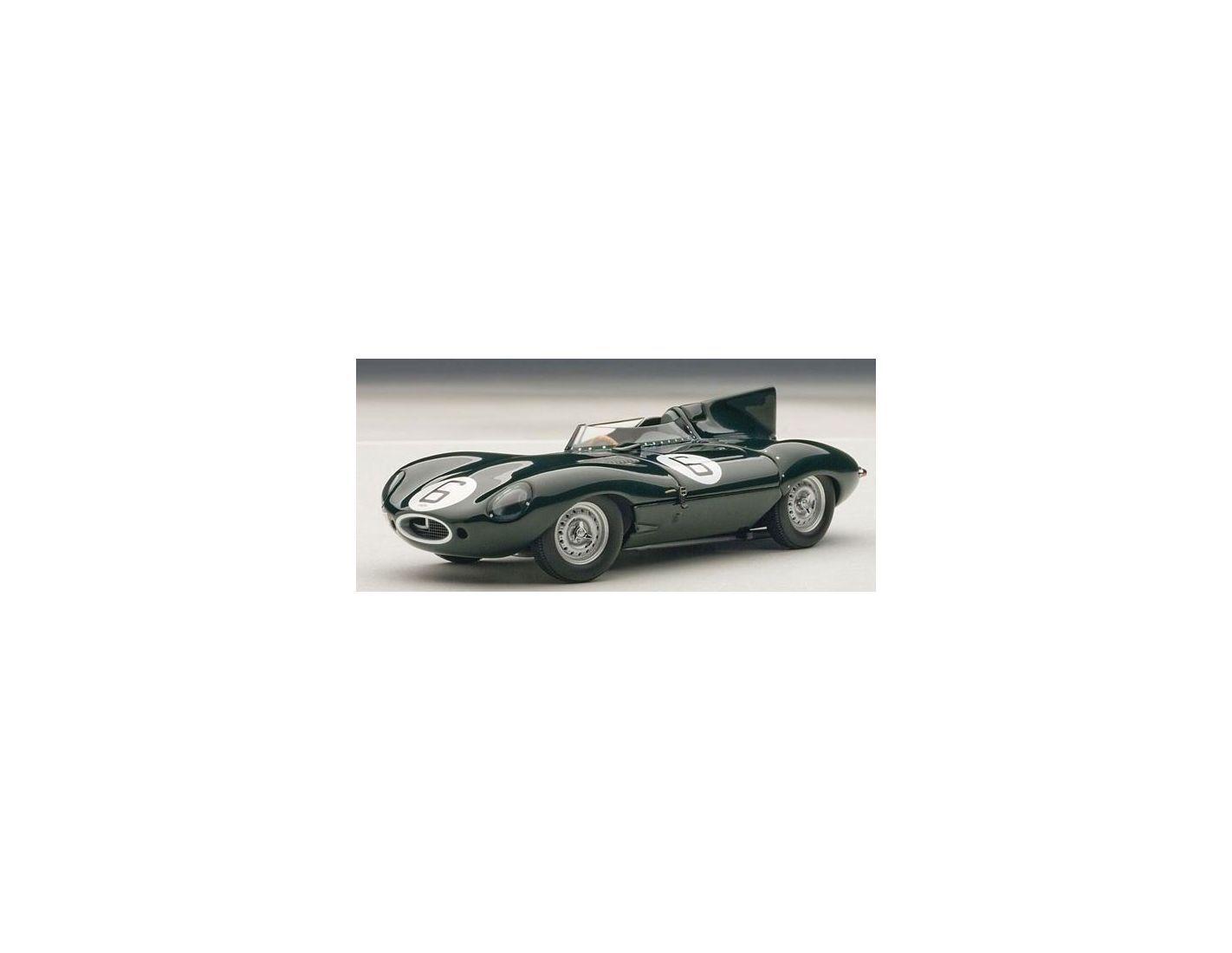 Auto Art   Gateway AA65586 JAGUAR D-TYPE N.6 WINNER LE MANS 1955 HAWTHORN-BUEB 1