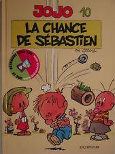 JOJO  ** TOME 10 LA CHANCE DE SEBASTIEN **  EO NEUF  GEERTS