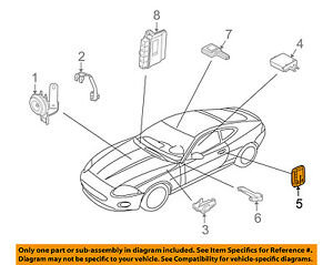 image is loading jaguar-oem-09-15-xf-keyless-entry-key-