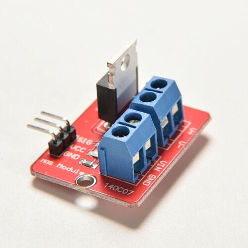 2x Red IRF520 MOSFET Treibermodul für Arduino IRF520 DC PWM neu mode ZF