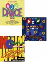 """6 CD Set - Now Dance 901 902 & 903 - Fat Box That's What I Call Music 12"""" Mixes"""