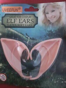 Halloween Fancy Dress Pointed Elf Ears Pixie Movie Ears New fg