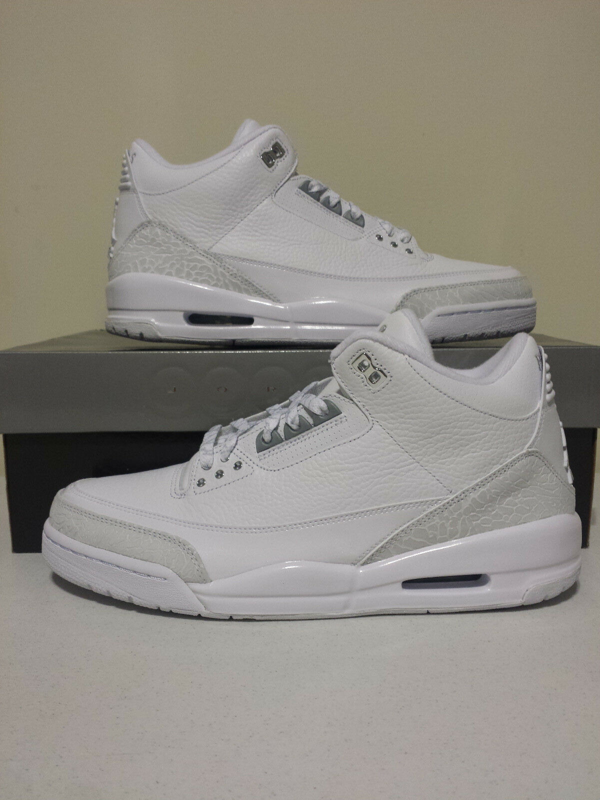 Nike Air Jordan Retro 3 III 25th Anniversary SZ 11 398613-102 2010 Release