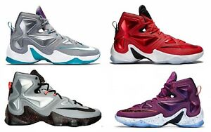 outlet store 35aa1 267f9 Image is loading NEW-Mens-Nike-LeBron-XIII-13-Basketball-Shoes-
