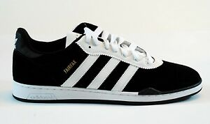 e229259fd5 Image is loading Adidas-RONAN-FAIRFAX-Black-White-Skateboarding -Defective-170-