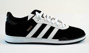 812ea3bb0 Image is loading Adidas-RONAN-FAIRFAX-Black-White-Skateboarding-Defective -170-