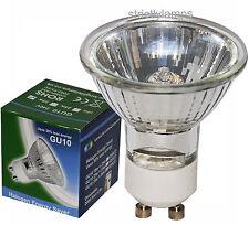 10 x GU10 Halogen Energy Saving Light Bulbs 18w = 25w