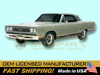 1969 Plymouth GTX REFLECTIVE Decals /& Lower Body Stripes Kit