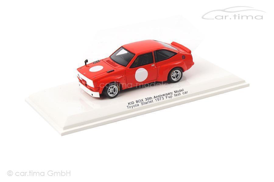 TOYOTA STARLET-Fuji Test Car 1973-Kid BOX 30th Anniversary Model-Reve COLL