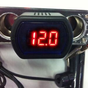 1-12V-24V-Digital-Voltage-Gauge-Volt-LED-Car-System-Battery-Voltmeter-Meter-Top