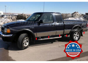 93-2004-Ford-Ranger-Extended-Cab-4WD-Short-Bed-Stainless-Steel-Rocker-Panel-Trim