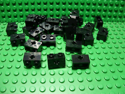 Set of 8 NEW 2 x 2 Modified Brick Axle with Pins and Axle Hole DARK GRAY LEGOS