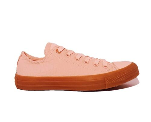 Pink Vapor All Rrp£75 157297c Leather Reptile Ox Star Trainers Converse Ctas I7XxqA7S