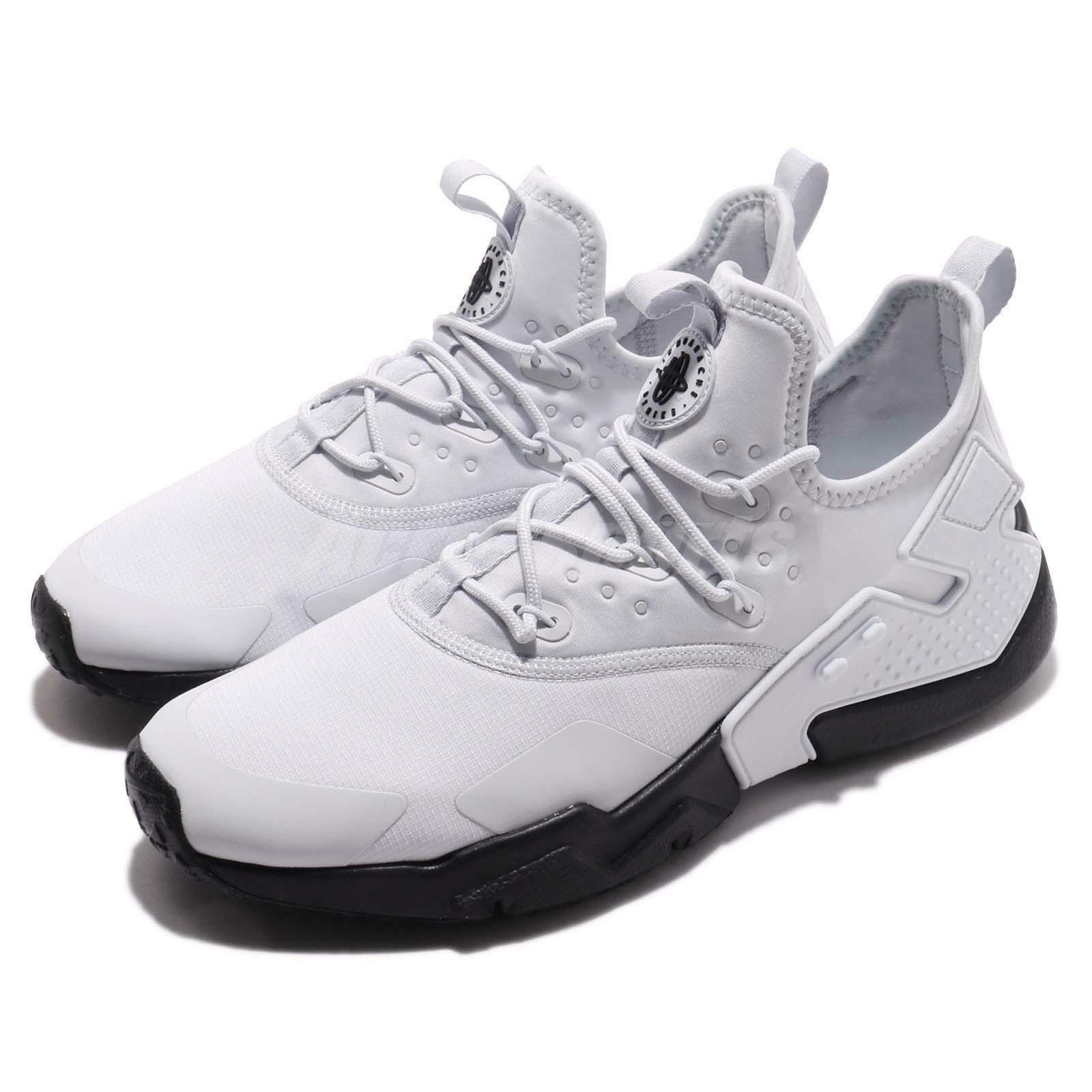 51e8f14254 Nike Air Huarache Drift Platinum Men Running shoes Sneaker AH7334-012 Pure  Black nqacyf327-Men