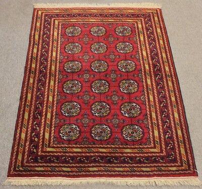 0.9x1.2m Antiquitäten & Kunst Sonstige Türkisch Handgewebt Teppich Handmade Wohnzimmer Schlafzimmer Rot Color Strengthening Waist And Sinews