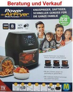 Power-AirFryer-Heissluftfritteuse-m-Drehgrill-Doerraut-Grill-Fritteuse-Backen-TOP