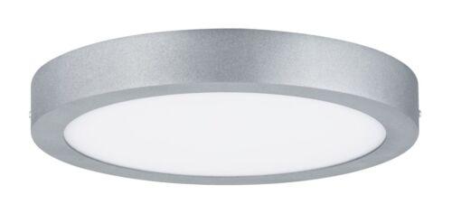 Paulmann Deckenleuchte Lunar LED Panel Rund Alu Warmweiß Deckenlampe Wohnzimmer