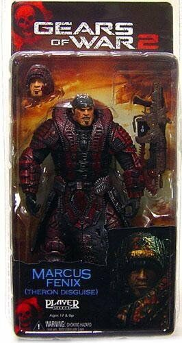 Neca Toys Action Figure Theron MARCUS FENIX Gears of War 2 Series 4