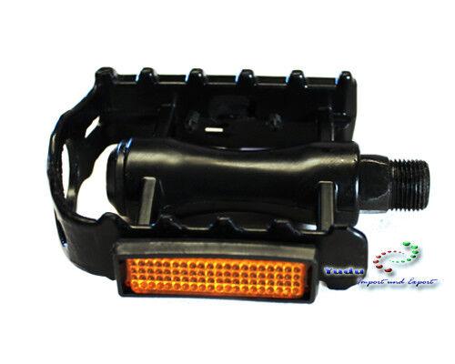 ALU Pedale Fahrradpedale Pedalen MTB Pedale Reflektoren