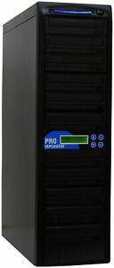 ProDuplicator 10 Burner 24X CD DVD Duplicator Multiple Disc Copier Replicating