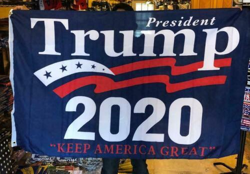 3X5 2020 KAG TRUMP LIBERTY BANNER US USA FLAG 3X5 AMERICAN LAW ENFORCEMENT USA