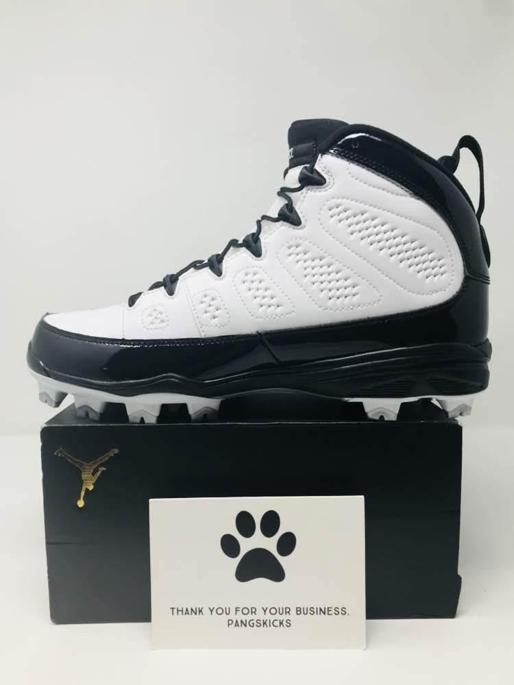 Nike Air Jordan 9 Retro MCS 'Re2pect' Baseball Cleat AA1264-100 Size 11