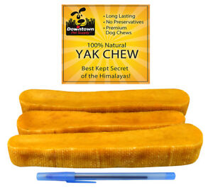 Himalayan Yak Chew Healthy 100% All Natural Dog Pet Treats for All Sizes Dogs