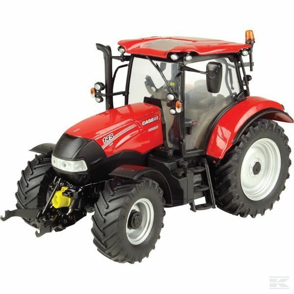 Universal Hobbies Case IH Maxxum 145 CVX Model Tractor With Loader 1 32 Scale