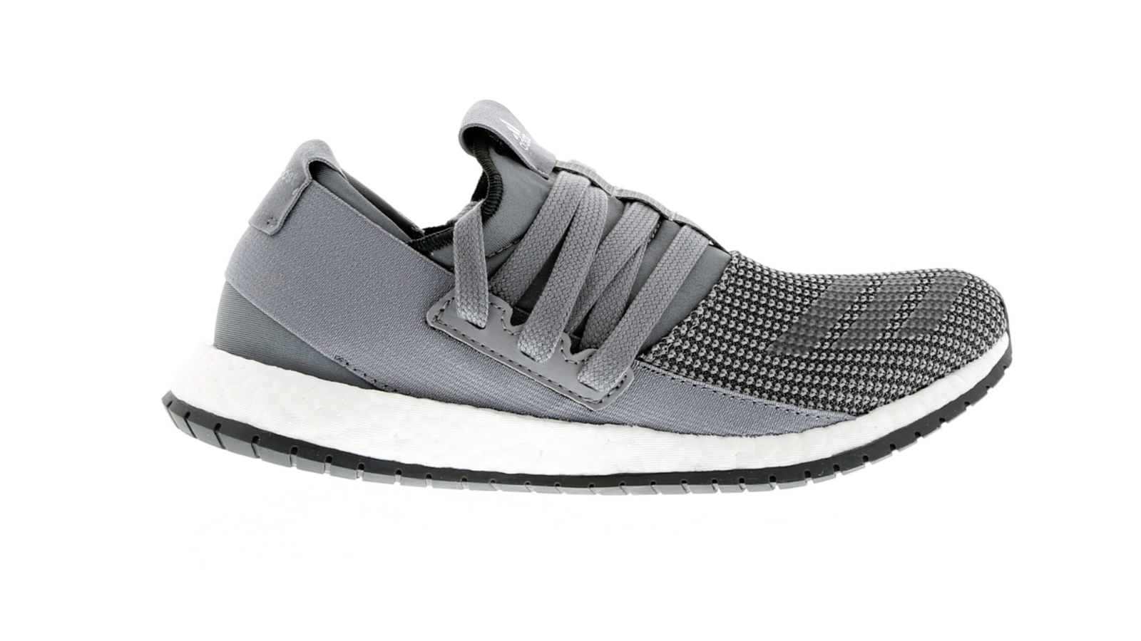 Mens ADIDAS PUREBOOST R M Grey Running Trainers BB0811