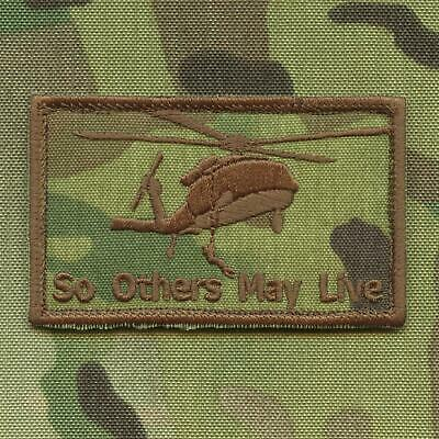 so others may live CSAR 2x3 25 jolly green air rescue SAR morale patch