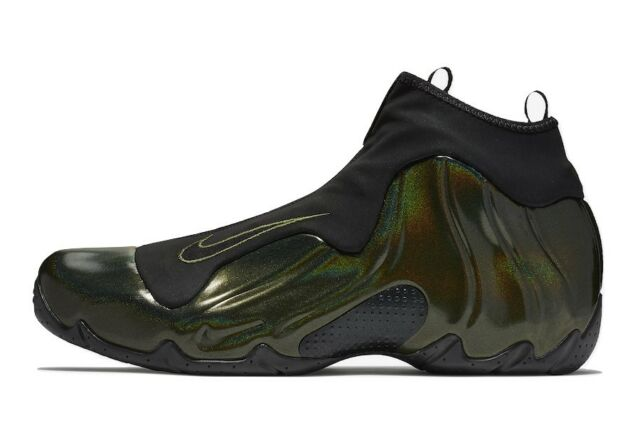 72b222200de355 Nike Air Flightposite Mens Legion Green Black Basketball Shoe Size US  11M EUR 45