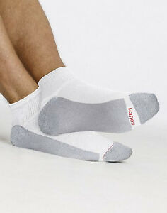 Hanes-Men-039-s-Cushion-Ankle-Socks-6-Pack-186-6