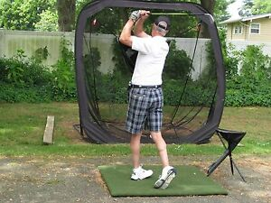 Details About 4x4 Real Feel Country Club Elite Golf Mat Practice Matt Now Ships World Wide