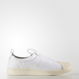 New Adidas Original Womens Superstar BW3S Slip On On On BY2949 WHITE US W 5 - 10 TAKSE cf328d