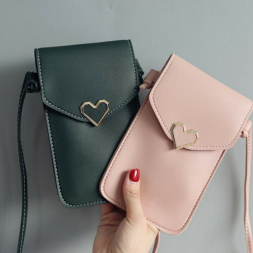 Women Wallet Purse Leather Coin Cell Phone Mini Cross-body Shoulder Bag