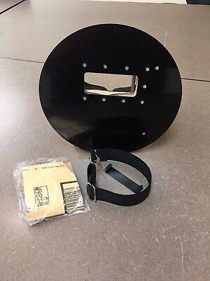 Right Hand, Black Sarges Pancake Black Welding Hood Helmet Right Handed Regular Pipeline OSHA Approved