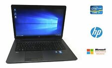 HP ZBook 17 Mobile Workstation Core i7 2.9GHz 8GB 750GB HD NVIDIA Win 10