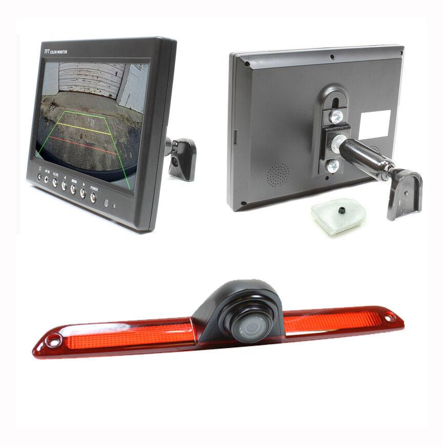 "7""LCD Monitor+Backup Rear View Camera/BrakeLight For"