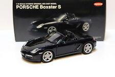 1:18 Kyosho Porsche Boxster S - dark blue NEW bei PREMIUM-MODELCARS