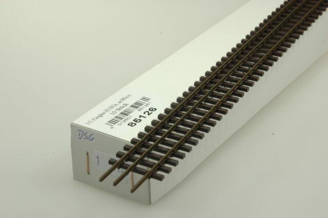 Tillig 85127 Dreischienen-Flexgleis H0-H0m Länge 680 mm
