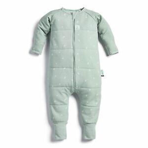 ErgoPouch 2.5 TOG Baby Pyjamas Romper Sleepwear Organic Cotton Suit 12-24m Sage