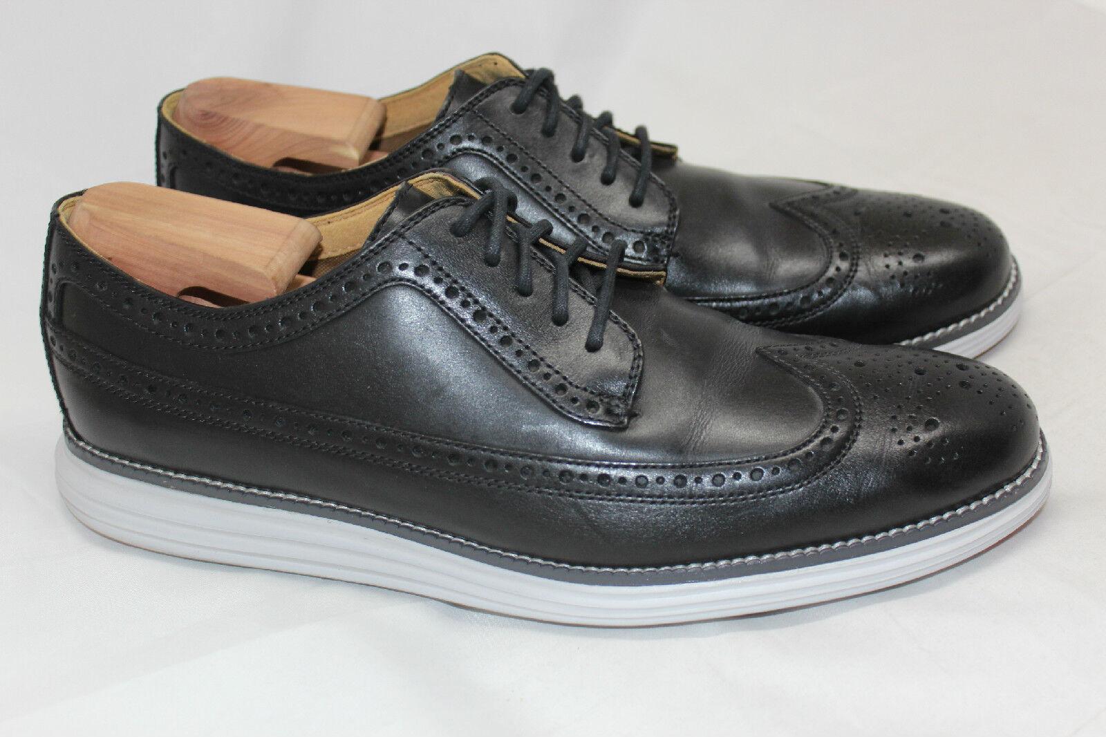 Para Hombre Cole Haan 'Original Grand' Oxford punta del ala Zapato-Negro 10.5M - C21198 (R31)