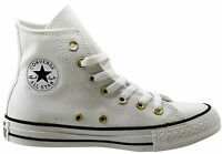 Converse CT All Star Hi Top Womens Canvas Trainers Boots White 547266C D23