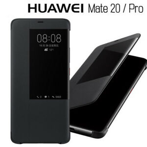 hot sale online 857a5 77ded Details about Luxury Leather Smart Case For HUAWEI Mate 20 / 20 Pro 20X  View Window Flip Cover