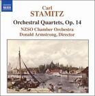 Carl Stamitz: Orchestral Quartets, Op. 14 (CD, Oct-2006, Naxos (Distributor))