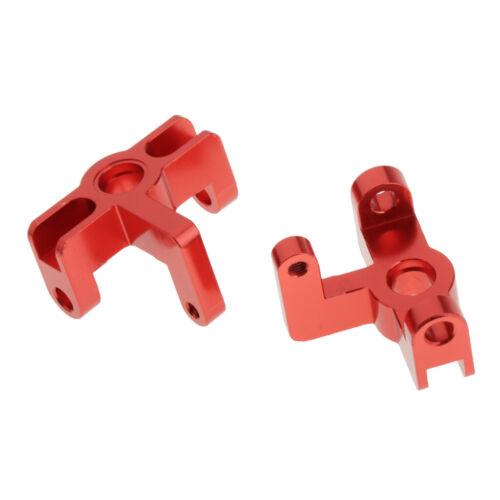 2x 1//14 RC Modell Vorderradnabenträger für WLtoys 144001 Auto DIY Upgrade