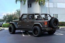 Ruggedtuff Rims Gunmetal Black 5x127 Lifted Trucks Suv Jeep Chevy Gmc 20x12 Set