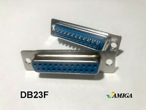 DB23 female connector  for Amiga video cables (solder cups)