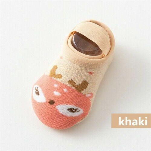 Cute Non-slip Cartoon Slipper Baby Socks Kids Cotton Floor Toddler Shoes