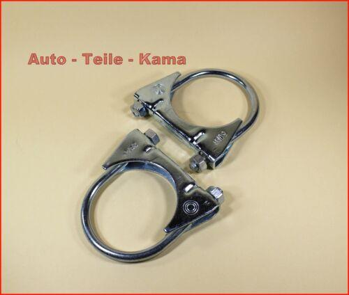 Fiat Montageschelle //  M8 Ø 60 mm 2 x Auspuffschelle für Alfa Romeo Lancia